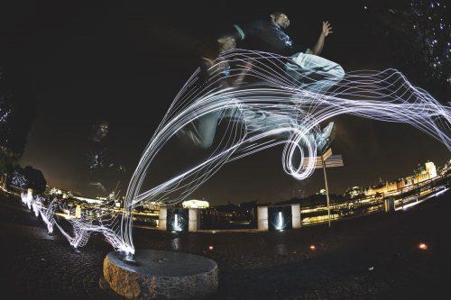 Sebastien Foucan Jump